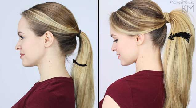 Get The Perfect Ponytail In Less Than 5 Minutes
