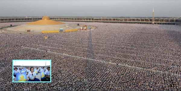 5000 Schools 1 Million Children Gathered to Do This For World Peace and No One Says Anything